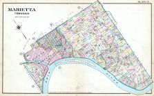 Plate 013 - Marietta Township, Marietta - Ohio and Williamstown - West Virginia 1902