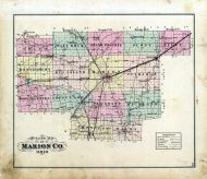 Outline Map, Marion County 1878