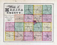 Index Map - Medina County, Medina County 1874