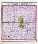 Wadsworth Township, Weaverville, Medina County 1874