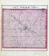York Township, Abbyville, York Center, Medina County 1874