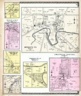 Weymouth P.O., Chatham Center, Spencer Mills, Troy, Erhart, Coddingville, Lot 11 Tract 8, Medina County 1897