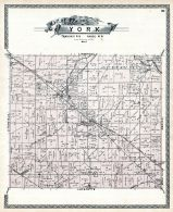 York Township, Lester Mallet Creek P.O. Abbyville, Thompson's Crossing, Erhart P.O., Medina County 1897