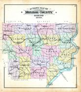 County Outline Map, Monroe County 1898