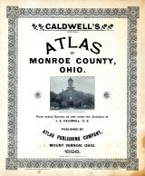 Title Page, Monroe County 1898