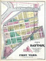 Dayton - City, Ward 001, Montgomery County 1875