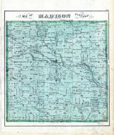 Madison Township, Montgomery County 1875