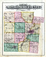 Outline Map, Montgomery County 1875