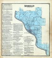 Morgan Township, McConnelsville, Muskingum River, Morgan County 1875