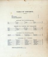 Table of Contents, Morgan County 1875