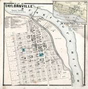 Taylorsville, Duncans Falls, Muskingum County 1866
