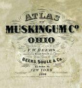 Title Page, Muskingum County 1866