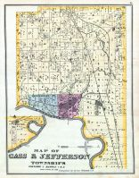 Cass Township, Jefferson Township, Muskingum County 1875