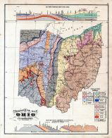 Geological Map, Muskingum County 1875