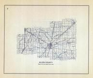 Allen County, Ohio State 1915 Archeological Atlas