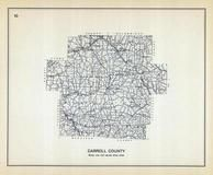 Carroll County, Ohio State 1915 Archeological Atlas