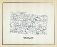 Champaign County, Ohio State 1915 Archeological Atlas