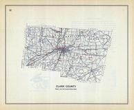 Clark County, Ohio State 1915 Archeological Atlas