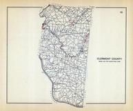 Clermont County, Ohio State 1915 Archeological Atlas