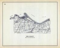 Erie County, Ohio State 1915 Archeological Atlas