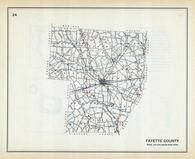 Fayette County, Ohio State 1915 Archeological Atlas