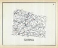 Greene County, Ohio State 1915 Archeological Atlas