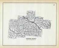 Hocking County, Ohio State 1915 Archeological Atlas