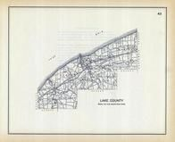 Lake County, Ohio State 1915 Archeological Atlas