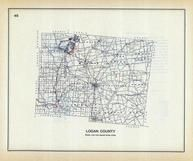 Logan County, Ohio State 1915 Archeological Atlas