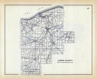 Lorain County, Ohio State 1915 Archeological Atlas