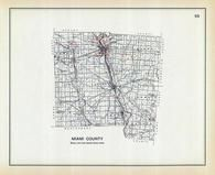 Miami County, Ohio State 1915 Archeological Atlas