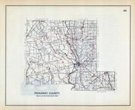 Pickaway County, Ohio State 1915 Archeological Atlas