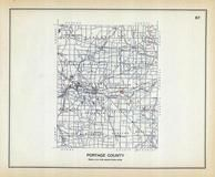 Portage County, Ohio State 1915 Archeological Atlas