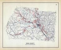 Ross County, Ohio State 1915 Archeological Atlas