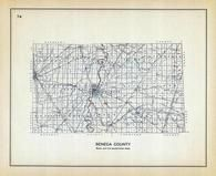 Senaca County, Ohio State 1915 Archeological Atlas