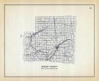 Shelby County, Ohio State 1915 Archeological Atlas