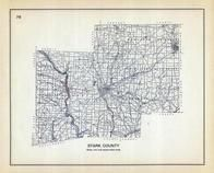 Stark County, Ohio State 1915 Archeological Atlas