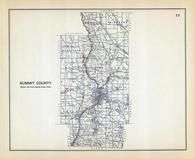 Summit County, Ohio State 1915 Archeological Atlas