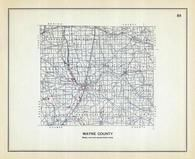 Wayne County, Ohio State 1915 Archeological Atlas