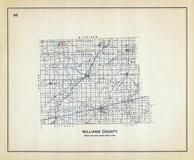 Williams County, Ohio State 1915 Archeological Atlas