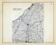 Wood County, Ohio State 1915 Archeological Atlas