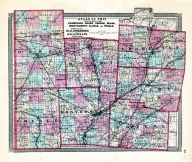 Champaign, Darke, Green, Miami, Mongomery, Clarke, Preble, Ohio State Atlas 1868