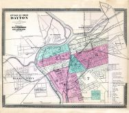 Dayton, Ohio State Atlas 1868