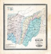 State Geological Map, Ohio State Atlas 1868