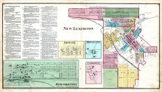 New Lexington, Bristol, Middletown, Clarksville, Junction City, Perry County 1875