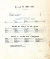 Table of Contents, Perry County 1875