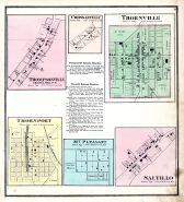 Thompsonville, Crossanville, Thornville, Thornport, Mt. Pleasant, Saltillo, Perry County 1875