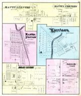 Mantua Centre, Mantua Corners, Mantua Station, Harrison, Hiram Centre, Shalersville Centre, Portage County 1874