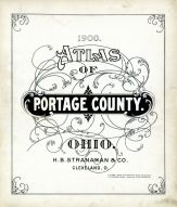 Title Page, Portage County 1900