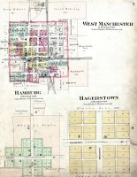 Manchester Ohio Map.Historic Map Works Residential Genealogy